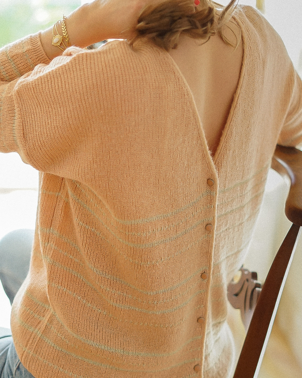 Pull dos ouvert