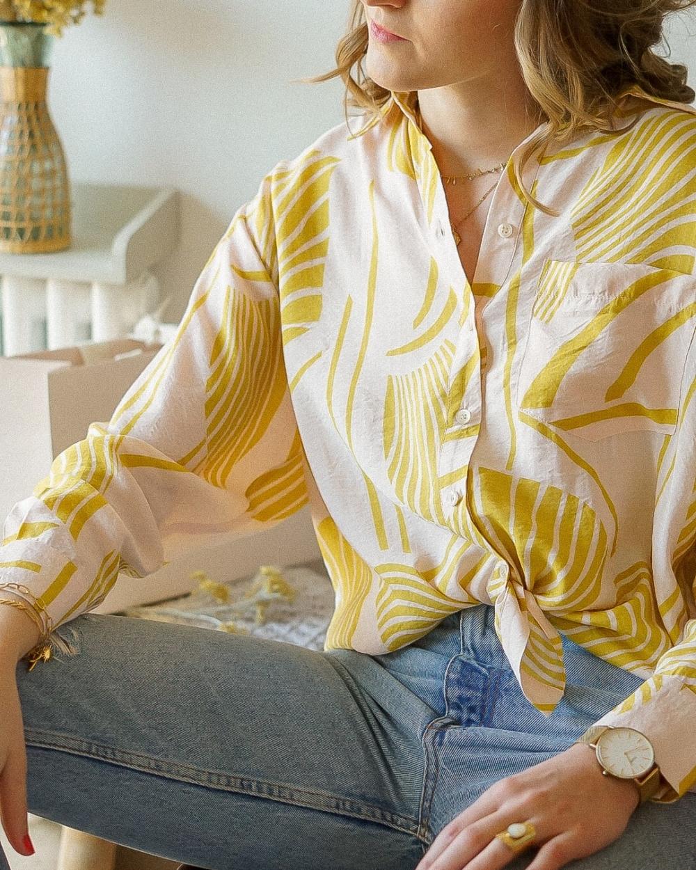 chemise fluide femme