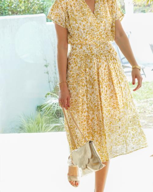 robe midi femme