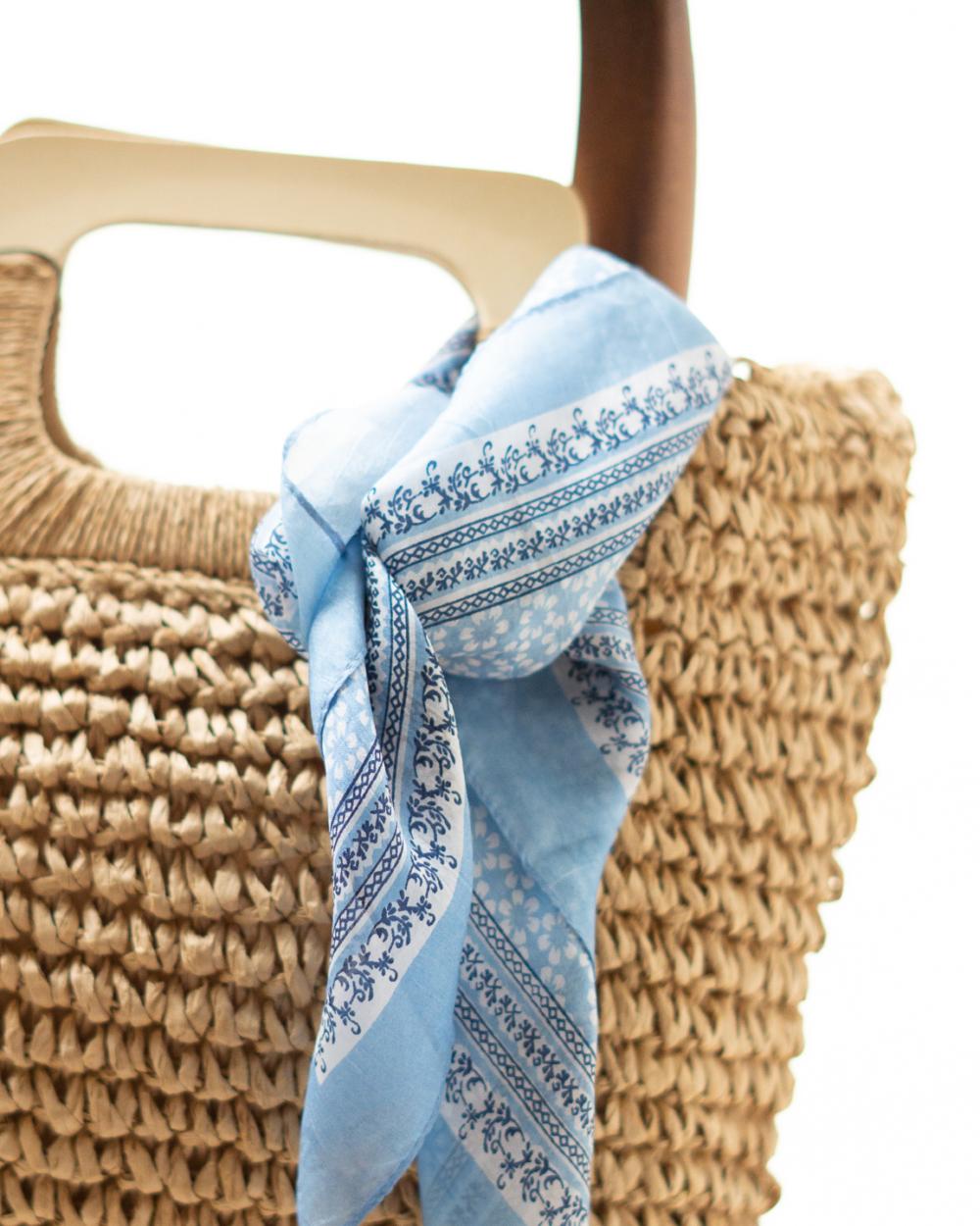 foulard soie femme