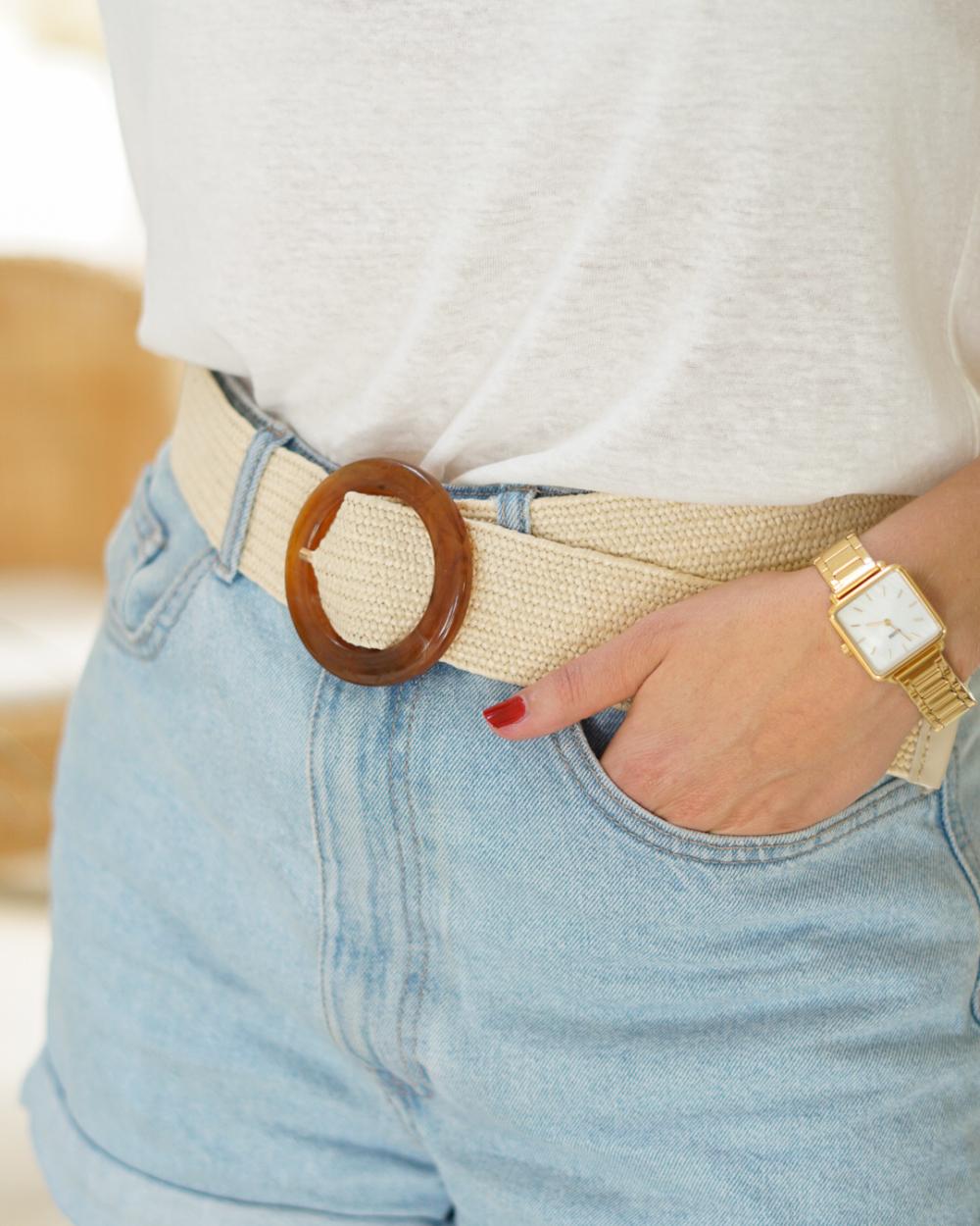 ceinture elastique femme