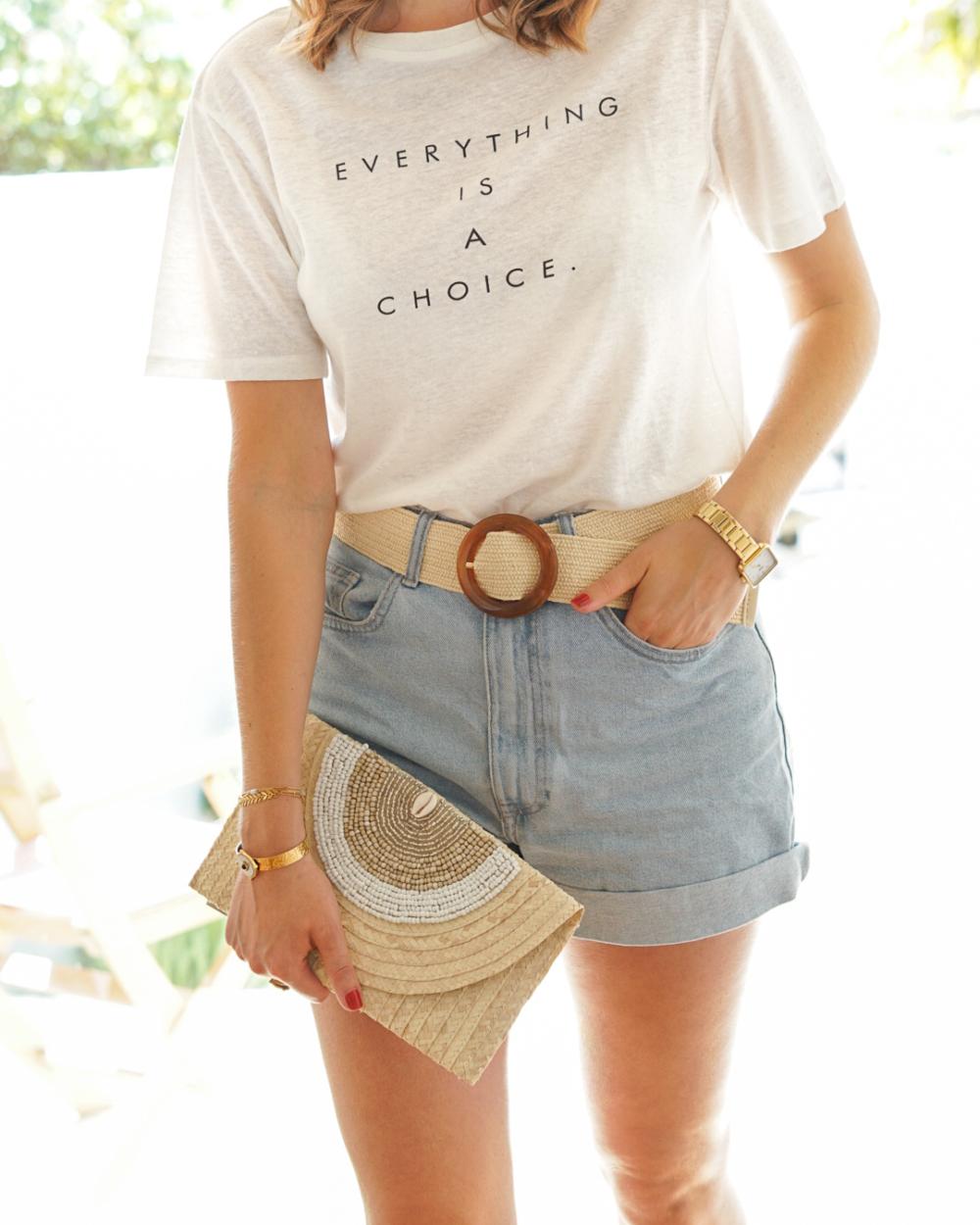t-shirt femme lin