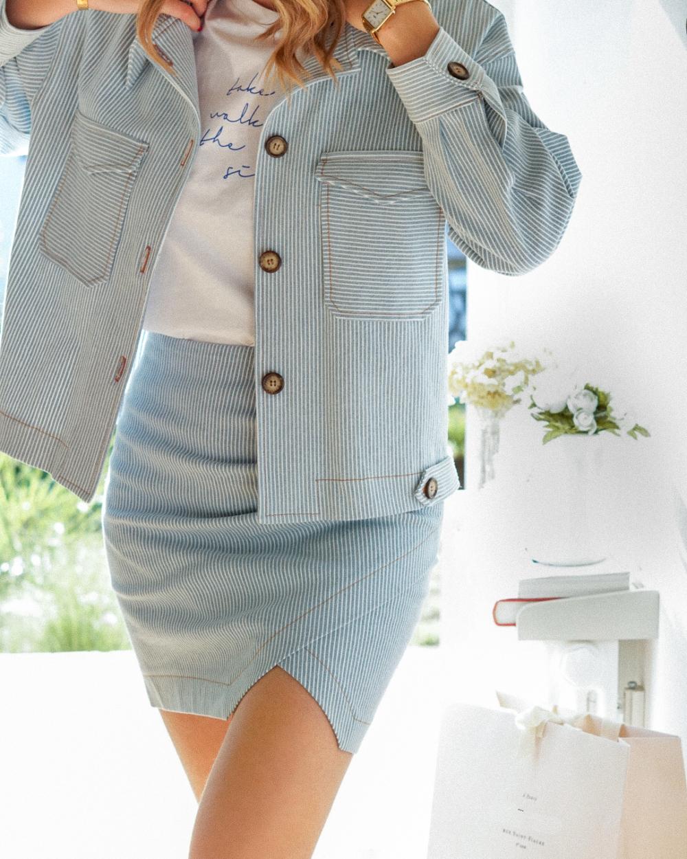 jupe coisée