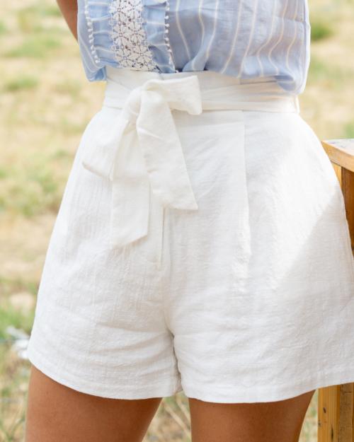 short coton femme