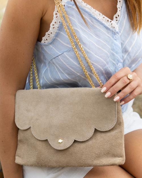 sac à main festonné